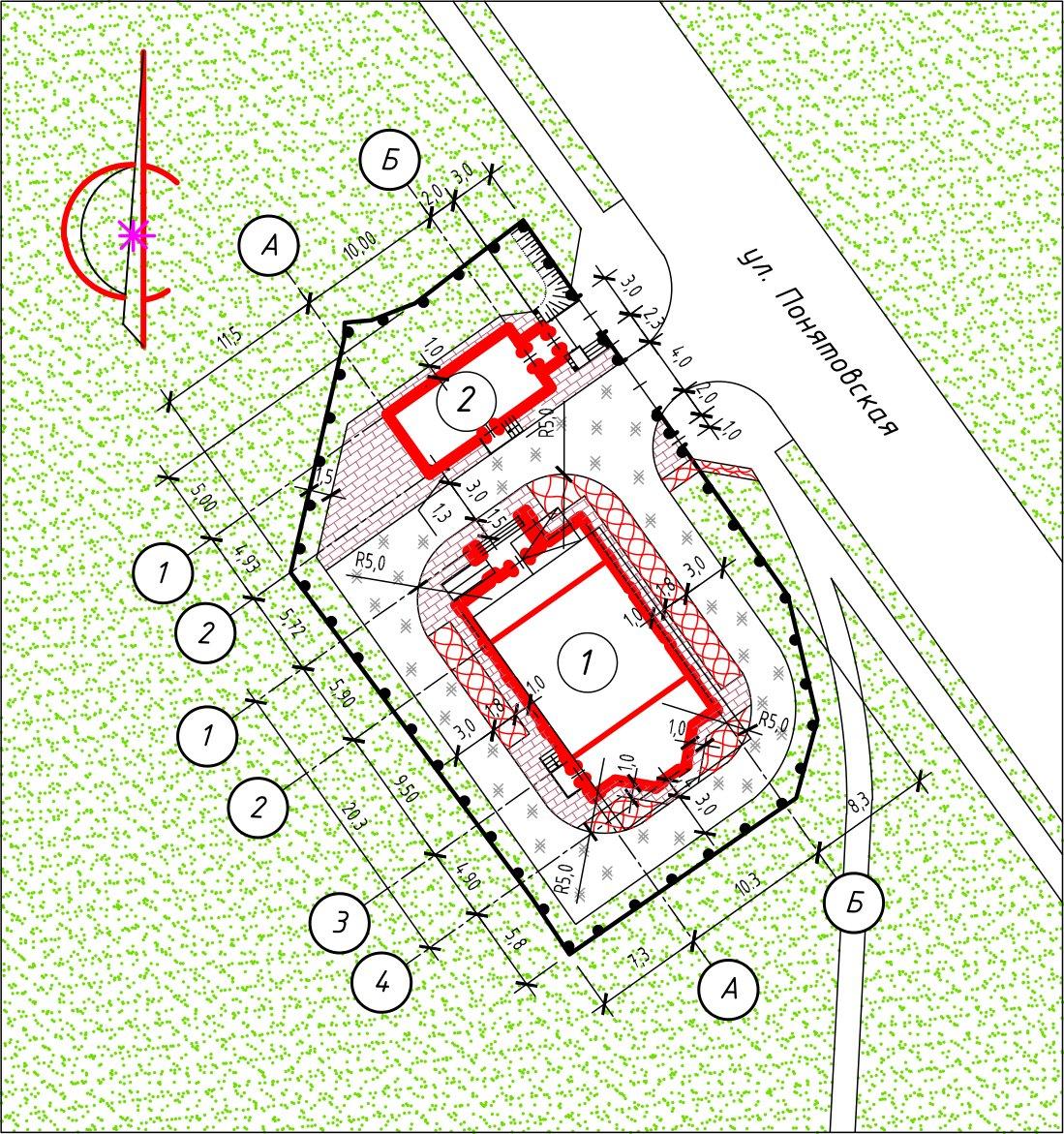 Схема планировочной организации земельного участка пример своими