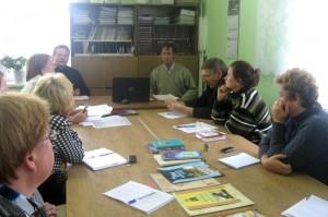 Заседание МО учителей истории православной культуры земли Смоленской Ершичского района